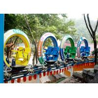 Cheap Multi Color UFO Cycle Monorail Ride , Track Car Model Roller Coaster Attractions for sale