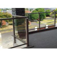 Cheap Polished Outdoor Stair Handrail Lightweight Aluminum Railings For Decks for sale