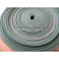 Cheap Oil - Proof Green PVC Rubber Conveyor Belt With Cleat Flange Skirt Sidewall for sale
