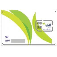 Cheap PostPaid Telecom SIM Card with Personalization without Card envelope for sale