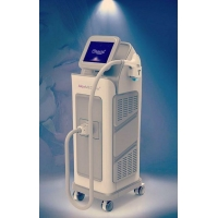 Cheap 1500 Watts Touchscreen 10hz 808nm Diode Laser Hair Removal Machine for sale