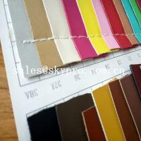 Cheap 1mm Thick PU Synthetic Leather Wear Resistence Custom embossed PVC Leather Vinyl Fabric for sale