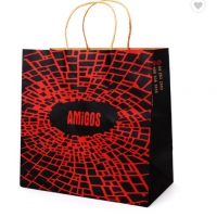 Cheap Compostable Printed Paper Shopping Bags for sale