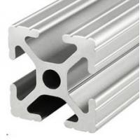 Cheap T-slot  aluminum extrusion profiles Steel polished Suface Treatment for sale