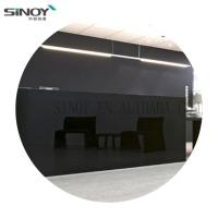 Cheap Beautiful Painted Glass With FENZI Paint for wall Decoration for sale