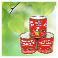Cheap Can (Tinned) Packaging and Tomato Primary Ingredient tomato paste 140g brix 28-30% for sale