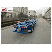 China 2/3 Axles Port Yard Terminal Trailer Heavy Duty Tandem Leaf Spring Or Air Suspension on sale