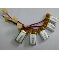 Cheap small sized factory OEM li-polymer battery 40mAh 301018 for inteligent ware for sale