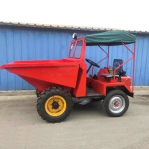 Cheap Construction Diesel Front Tipper Mini Dumper 1 Ton for sale