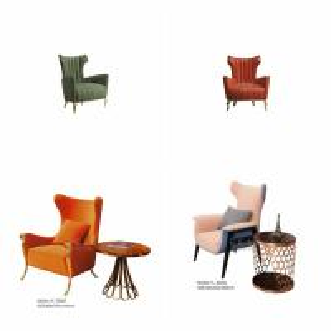 Cheap Modern Living Room Metal Leg Fabric Leisure Chair for sale