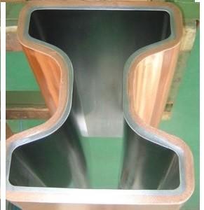 Cheap SF-Cu (DHP Cu) Multi - Tapered Caster Copper Mould Tube For CCM Cu-Cr-Zr CuAg CCM for sale