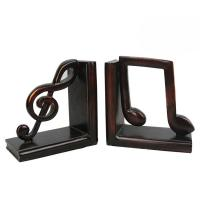 Cheap Study Room Music Themed Bookends / Eco - Friendly Music Note Bookends for sale