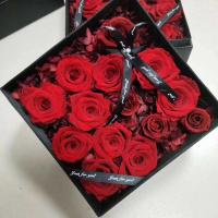 Cheap Christmas gift wholesale preserved rose flower boxes from ecuador farm Home Decoration for sale