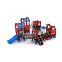 Cheap Funny Car Metal Cool Child Kid Slide Outdoor Play Equipment Longlife for sale