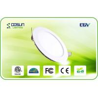 Cheap 8 Inch Energy Saved Slim Dimmable Led Downlights , 3500k - 6500k Commercial Led Downlight for sale