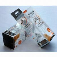 Quality Clear Plastic Favor Boxes, Made of PP/PET/PVC, Customized Logo Printings are wholesale