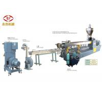 China PET Bottle Recycling PET Pelletizing Line With Screw Feeding Machine 400kg/H on sale