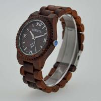 Cheap Eco Friendly Bewell Wooden Wrist Watch Waterproof With Customised Logo for sale