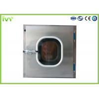 Cheap 304 Stainless Steel Pass Through Box ISO Class 5 Clean Grade In Laboratory for sale