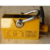 Cheap Unique Electro Permanent Magnetic Lifter , Yellow Steel Magnetic Lifter for sale