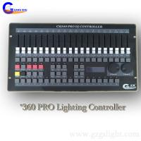 Cheap Professional DMX Lighting Controller/Stage 360 DJ Light Console with easy operation for sale