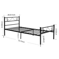 Cheap Customizable Unique Steel Furniture Bed Electrostatic Powder Coating for sale