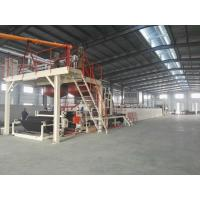 Cheap Automatic Tile Production Line / Bitumen Backed Carpet Tiles Water - Cooling Control for sale