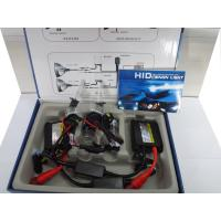DC 35w h1 single bulb hid xenon kit (slim ballast) color box packing with black and red wire Manufactures