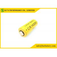 Cheap Long Shelf Life 2 3 Aa Lithium Battery / Non Rechargeable Battery CR14335 800mah for sale