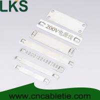 Cheap Stainless steel marker plates for sale