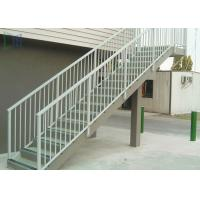 Cheap Residential Outdoor Stair Handrail Wall / Grounded Mounted With Stable Function for sale