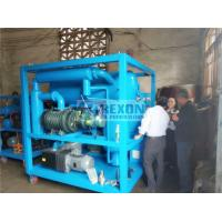 Buy cheap High Vacuum Dehydration Transformer Oil Filtration Machine 9000LPH from wholesalers