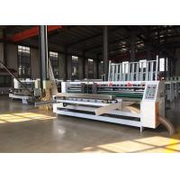 Buy cheap Speed 0-1200 Turn / Min Lead Edge Feeder Corrugated Board Thin Blade Slitting from wholesalers