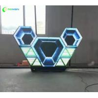 Buy cheap Wall LED Screen Display Apply In Nightclub Diamond Triangle Shape P5 SMD from wholesalers
