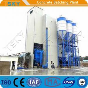 Cheap High Aggregate Storage Silo HLS180 Concrete Batch Plant for sale