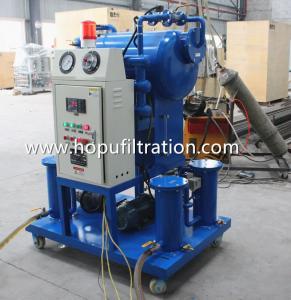 Cheap Onsite workig Single Stage Vacuum Transformer Oil Purifier, Workshop Insulation Oil Degassing System for sale