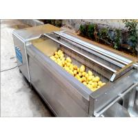 Cheap Carrots / Sweet Potato Washer, Tumbled Rubbed Fruit Vegetable Washer Machine for sale
