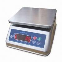 Cheap Stainless Steel Waterproof Weighing Scale, Available in Various Capacities for sale