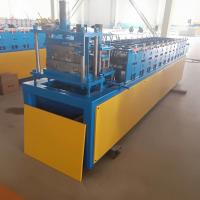 Cheap Stud And Track Roll Forming Machine 12 Rows 4kw With 0.3-0.6mm Raw Material Thickness for sale