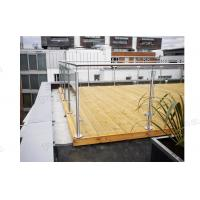 Factory Balcony Stainless Steel Post Glass Panel Railing is On Hot Selling! Manufactures