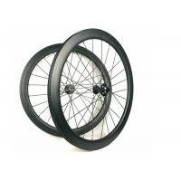 Cheap Hand - Built Carbon Racing Bike Wheels 50MM Road Disc 700C Racing Cycling for sale