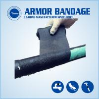 China High Rigidness Fast Hardening Bandage Emergency Fiberglass Pipe Repair Bandage Cast Armored Tape on sale