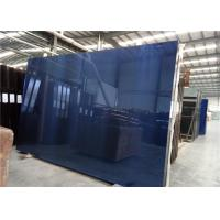 Cheap 3300x2140mm Size 5mm Thickness Dark Blue For Building Construction for sale