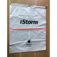 Cheap Simple and elegant white cpe rope bag for general purpose packaging for sale