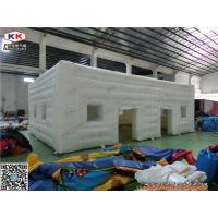 Cheap White 610gsm PVC Heated Giant Inflatable Tent  For Promotion Waterproof for sale