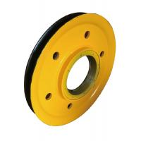 Cheap Yellow Rigging Hardware Sheave Pulley 2 Inch To 75 Inch for sale