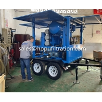 Buy cheap Mobile Trolley PLC type Vegetable Transformer Oil Purifier, Movable Transformer from wholesalers