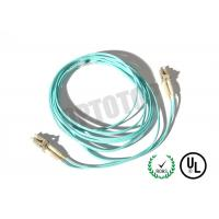 2F ZIP 2.0mm Lc Fiber Patch Cord OM4 B/I For Data Processing Networks