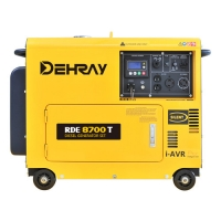 Cheap CE 240V 36Ah 8.6KW Portable Silent Generators for sale