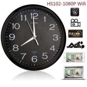 Quality Wifi Spy Camera Wall Clock Wireless Full Hd 1080P Hidden Video Recorder Spy wholesale